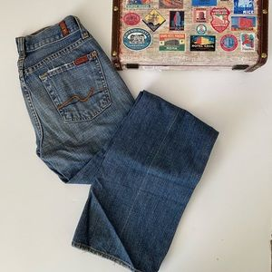 7 for all Mankind bootcut jeans, Sz. 25